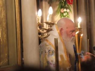 Φωτογραφία για Δεν μνημόνευσε τον Κιέβου Επιφάνιο ο Αρχιεπίσκοπος Ιερώνυμος στη Θεία Λειτουργία των Θεοφανείων