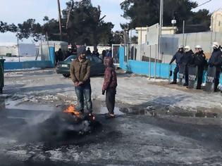 Φωτογραφία για Ένταση με πρόσφυγες στα Διαβατά (βίντεο)