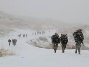 Φωτογραφία για Καταγγελία αναγνώστη: Πορεία στα χιόνια με -10