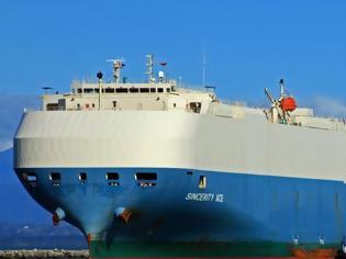 Φωτογραφία για Ακυβέρνητο πλοίο με χιλιάδες αυτοκίνητα στα αμπάρια του...