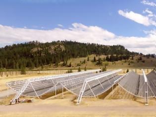 Φωτογραφία για Αυτή τη φορά από το νέο καναδικό ραδιοτηλεσκόπιο CHIME