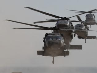 Φωτογραφία για Προσγειώθηκαν Αμερικανικά ελικόπτερα στον Βόλο για άσκηση: Ήρθαν για να μείνουν;