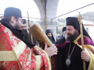 Φωτογραφία για 11529 - Ο Μητροπολίτης Πέτρας κ. Γεράσιμος στην Ιερά Μονή Καρακάλλου Αγίου Όρους