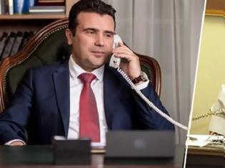 Φωτογραφία για Τηλεφωνική επικοινωνία Τσίπρα-Ζάεφ: Συγχαρητήρια για την αναθεώρηση του Συντάγματος
