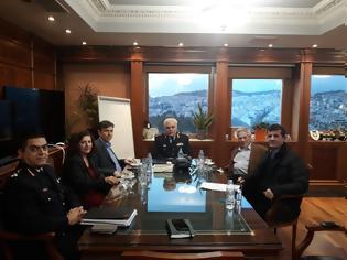 Φωτογραφία για Συνάντηση του Προέδρου της Ένωσης Ηλείας με τον Αρχηγό της ΕΛΑΣ και τους Βουλευτές του Νομού