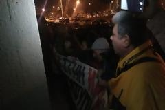 Υπό διαμαρτυρίες και αστυνομικό κλοιό η ομιλία Σκουρλέτη στο δημαρχείο Βόλου (φωτογραφίες)