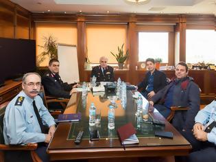 Φωτογραφία για Συνάντηση της Ένωσης Αλεξανδρούπολης  με τον Αρχηγό της ΕΛ.ΑΣ.