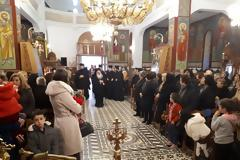 Υπό τον Μητροπολίτη Κανάγκας από το Πατριαρχείο Αλεξανδρείας, η κοπή πίτας στην ΑΓΙΑ ΠΑΡΑΣΚΕΥΗ ΠΑΛΑΙΡΟΥ (ΦΩΤΟ)