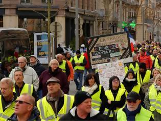 Φωτογραφία για Στους δρόμους τα «Κίτρινα Γιλέκα» για τη 10η εβδομάδα κινητοποιήσεων