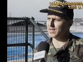 """Φωτογραφία για ΒΙΝΤΕΟ: Ο Αποστολάκης με τα """"βατράχια"""" του και χιλιάδες σφαίρες, όπως τον γνωρίσαμε το 2000 στις Φλέβες"""
