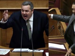 Φωτογραφία για Χαμός στη Βουλή - Σφοδρή επίθεση Κασιδιάρη στην Επιτροπή για την Μακεδονία με αποχώρηση Βούτση [Βίντεο]