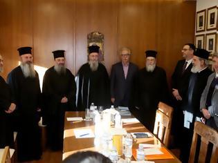 Φωτογραφία για Συναντήσεις του Υπουργού Κώστα Γαβρόγλου με αντιπροσωπείες της Εκκλησίας της Ελλάδος και του Οικουμενικού Πατριαρχείου