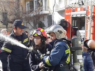 Φωτογραφία για Άσκηση - εκπαίδευση πυρκαγιάς της Π.Υ. Ηρακλείου στο 6ο και 44ο Δημοτικό Σχολείο Ηρακλείου