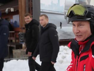 Φωτογραφία για Πούτιν και Λουκασένκο κάνουν μαζί σκι, παρά τις τεταμένες σχέσεις Ρωσίας - Λευκορωσίας
