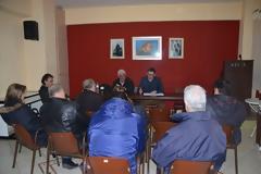 Συνάντηση του υπ. Δημάρχου Ξηρομέρου ΓΙΑΝΝΗ ΤΡΙΑΝΤΑΦΥΛΛΑΚΗ, με μέλη Δ.Σ. Συλλόγων του Δήμου μας στην Αθήνα