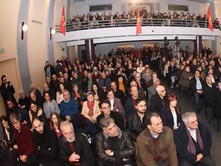 Φωτογραφία για Μεγάλη εκδήλωση στο Αγρίνιο με ομιλητή τον Δημήτρη Κουτσούμπα (VIDEO - ΦΩΤΟ)