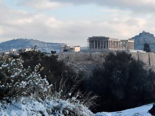 Φωτογραφία για Έκτακτο δελτίο επιδείνωσης από το Σάββατο – Χιόνια ακόμη και στο κέντρο της Αθήνας