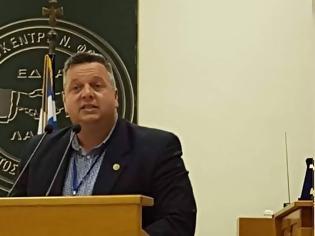 Φωτογραφία για Δυναμική η ομιλία του Οργανωτικού Γραμματέα Ηλία Κολλύρη στο συνέδριο της ΠΟΜΕΝΣ