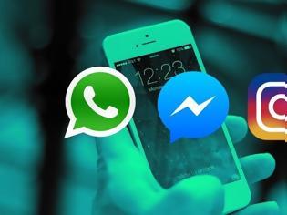 Φωτογραφία για Προβλήματα στο Facebook, το Instagram και το WhatsApp