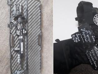 Φωτογραφία για Νέα Ζηλανδία: Πάνω στα όπλα του μακελάρη έγραφε «TURKOFAGOS»
