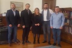 Στην Υφυπουργό Μακεδονίας - Θράκης οι αξιωματικοί Κεντρικής Μακεδονίας