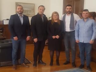 Φωτογραφία για Στην Υφυπουργό Μακεδονίας - Θράκης οι αξιωματικοί Κεντρικής Μακεδονίας