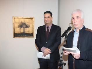 """Φωτογραφία για Εγκαινιάστηκε  στη Δημοτική Πινακοθήκη  η  έκθεση """"ἐλαία""""  από τον Δήμαρχο Αγρινίου Γιώργο  Παπαναστασίου η οποία  και θα διαρκέσει έως τις 17 Μαΐου....."""