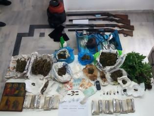 Φωτογραφία για Χειροπέδες σε τέσσερα άτομα για ναρκωτικά στη Λακωνία
