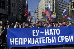 Οι Σέρβοι δεν ξεχνούν τους νατοϊκούς βομβαρδισμούς...