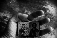 """""""Ἡ Παναγία ἔφερε στον κόσμο την παραδεισένια χαρὰ""""(Άγιος Παΐσιος)"""