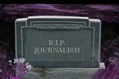 Ο θάνατος της δημοσιογραφίας...
