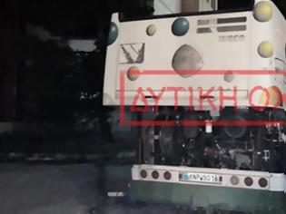 Φωτογραφία για Αυτοκίνητο καρφώθηκε σε λεωφορείο μετά από ληστεία στο Μενίδι
