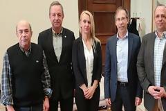 Συνάντηση στελεχών του Ποταμιού με την Πανελλήνια Ομοσπονδία Ενώσεων Στρατιωτικών