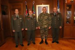 Τελετή μετατιθέμενων Συνταγματαρχών 1ης Στρατιάς