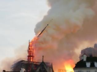 Φωτογραφία για Τεράστια καταστροφήαπό τη φωτιά στην Παναγία των Παρισίων