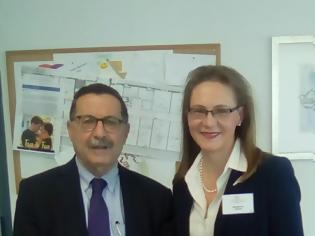 Φωτογραφία για Συνάντηση με την επικεφαλής του ΠΟΥ Ευρώπης στην Ελλάδα, Δρ. J. M. Trias»