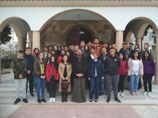 Φωτογραφία για Ξάνθη: Μαθητές Λυκείου στον Ιερό Ναό Αγίου Γεωργίου του Δ'ΣΣ