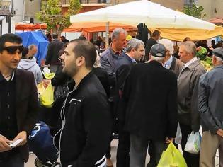 Φωτογραφία για Επίσκεψη του Κώστα Παλάσκα και υποψηφίων συμβούλων στην Λαϊκή Αγορά της πόλης των Γρεβενών (εικόνες)