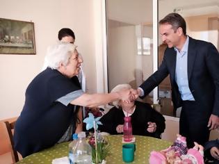 Φωτογραφία για Στις γιαγιάδες στο Μερόπειο ο Μητσοτάκης...