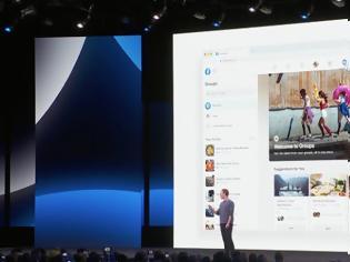 Φωτογραφία για Ο Mark Zuckerberg παρουσίασε ενημερωμένο σκούρο Facebook, το Messenger και το Instagram