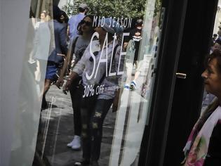 Φωτογραφία για Εκπτώσεις στα καταστήματα από σήμερα μέχρι 15 Μαΐου