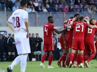 Φωτογραφία για Ο Ολυμπιακός πέρασε σβηστός με τριάρα από την Λάρισα