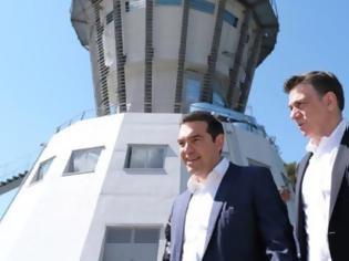 Φωτογραφία για Τσίπρας – Μωραΐτης στα έργα του νέου αεροδρομίου των Ιωαννίνων