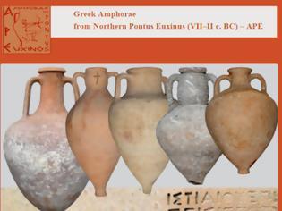 Φωτογραφία για Αρχαίοι ελληνικοί αμφορείς που βρέθηκαν στον Βόρειο Πόντο!