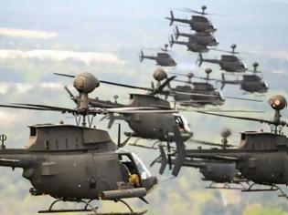 Φωτογραφία για Στην Ελλάδα τα Kiowa Warriors της Αεροπορίας Στρατού