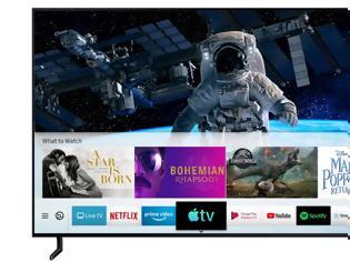 Φωτογραφία για Οι έξυπνες τηλεοράσεις της Samsung αποκτούν την εφαρμογή τηλεόρασης της Apple και την υποστήριξη AirPlay 2