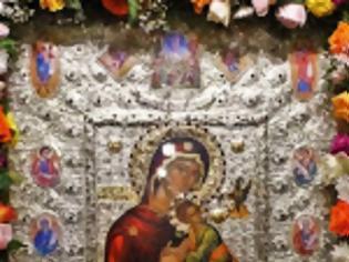 Φωτογραφία για 12044 - Η Παναγία «Φοβερά Προστασία» από την Ιερά Μονή Κουτλουμουσίου Αγίου Όρους στο Βόλο