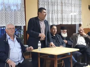 Φωτογραφία για Ομιλία του Υποψηφίου Δημάρχου Γρεβενών και Επικεφαλής του συνδυασμού «Μαζί συνεχίζουμε» κ. Δημοσθένη Κουπτσίδη στους Γρεβενιώτες της Κοζάνης