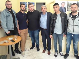 Φωτογραφία για Ενημερωτική συνάντηση του υποψήφιου Δημάρχου Κώστα Παλάσκα με εκπροσώπους του Συλλόγου Φοιτητών του τμήματος Διοίκησης Επιχειρήσεων Γρεβενών