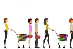 Πώς να διαλέγεις την πιο γρήγορη ουρά στο super market